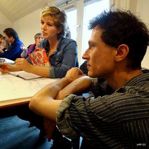 workshop Domeique Himmelsbach de Vries voor traject Blikopener voor het project reestzin